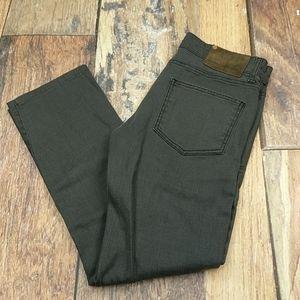 Zara Man Grey denim Jeans Button Fly Size 31/30
